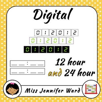 Analogue and 24 Hour Digital Clock Kit