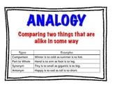 Analogy Anchor Chart