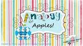 Analogy Apple Task Cards