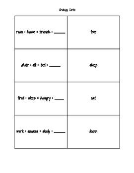 Analogy Cards
