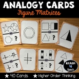 Analogy Cards: Figure Matrices