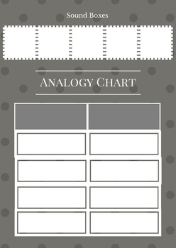 Analogy Chart with Elkonin Boxes