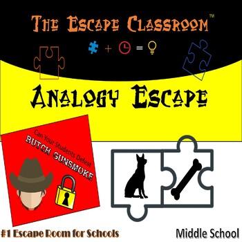 Analogy Escape Room (6 - 8 Grade)