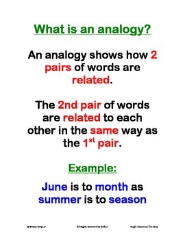 Analogy Packet