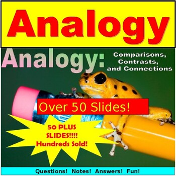 Analogy PowerPoint: Lesson, Notes and Exercises