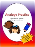 Analogy Practice Printables