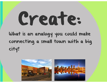 Analogy Prezi Presentation: Notes and Exercises