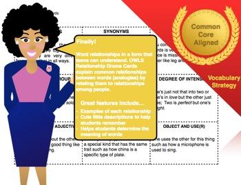 Word Relationship Drama Cards (Analogy)