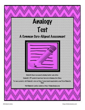 Analogy Test