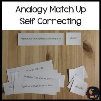 Analogy match up