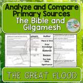Analyse and Compare Primary Sources The Flood Story in Gilgamesh and the Bible
