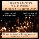 Analyzing Literature Through Music: A Fahrenheit 451 Novel Study