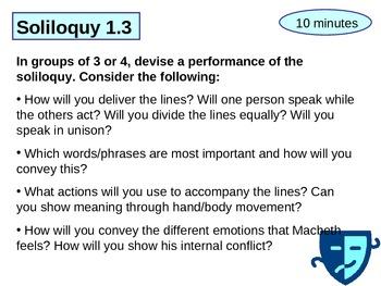 Analysing Macbeth's Soliloquy in Act 1 Scene 3
