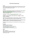 Analysis Essay Prompt: Patrick Henry's Speech to the Virgi
