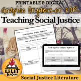 Analysis Graphic Organizer for  Social Justice Literature