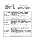 AP Language/Composition - Analysis Paragraph Rubric and Re