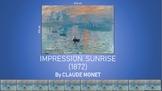 Analysis Slideshow of artwork Impression, Sunrise by Claude Monet