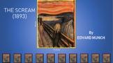 Analysis Slideshow of artwork The Scream by Edvard Munch