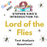 Analysis: Stephen King's Introduction to Lord of the Flies