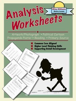 Analysis Worksheets