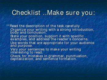 Analysis Writing - Powerpoints
