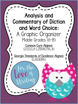 Analysis and Commentary of Diction and Word Choice