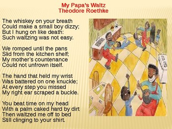 "Analysis and Review ""My Papa's Waltz""  by Theodore Roethke"