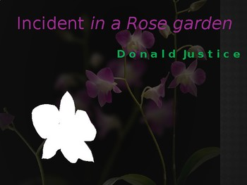 Analysis and Review of Incident in a Rose Garden by Donald
