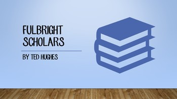 Analysis of 'Fulbright Scholars' - Ted Hughes