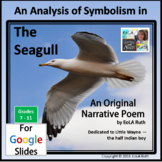 """Analysis of Symbolism in """"The Seagull"""" an Original Poem   for Google Slides"""