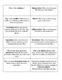 Literature Circle: Plot Elements