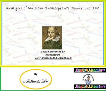 Analysis of William Shakespeare's Sonnet No. 130