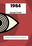 Analysis of opening paragraphs of '1984'