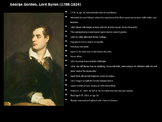 Analysis of poem - 'When We Two Parted' by Lord Byron