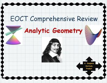 Analytic Geometry EOCT Ultimate Test Prep {Bundle}