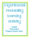 Experimental Probability Group Activity