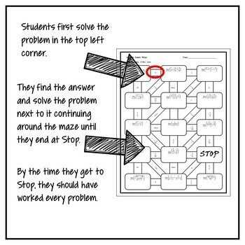 Finding Limits Analytically MAZE