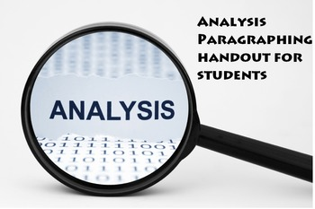 Analytic Paragraph