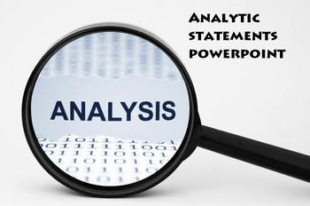 Analytic Statement Powerpoint