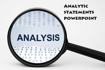 Analytic Statement Powerpoint