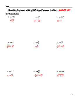 Analytic Trig Bundle - Verifying Trig Identities and Solving Trig Equations