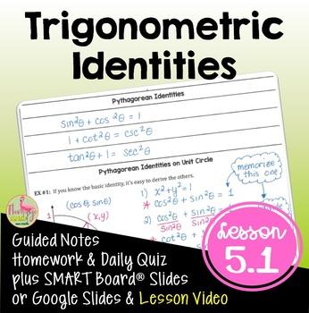 PreCalculus: Trigonometric Identities