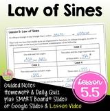 Law of Sines (PreCalculus - Unit 5)