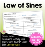 Law of Sines with Lesson Video (Unit 5)