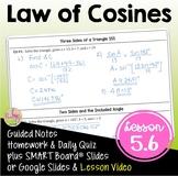 PreCalculus Law of Cosines