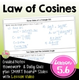 Law of Cosines with Lesson Video (Unit 5)