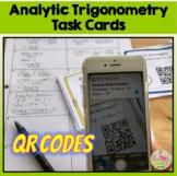 Analytic Trigonometry Task Cards QR Codes Activity (PreCal