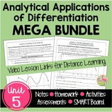 Calculus Analytical Applications of Differentiation MEGA B