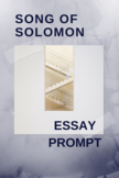 Analytical Essay Prompt: Morrison's Song of Solomon