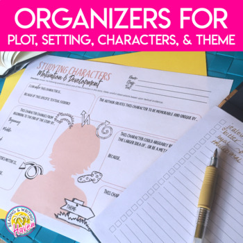 Analytical Graphic Organizer Activities for Any Short Story or Novel